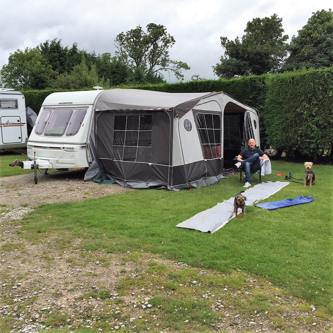 1994 Swift Challenger at Callow Top Caravan Park