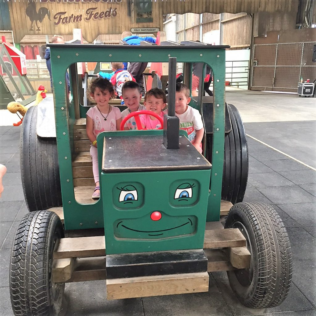 Folly Farm tractor